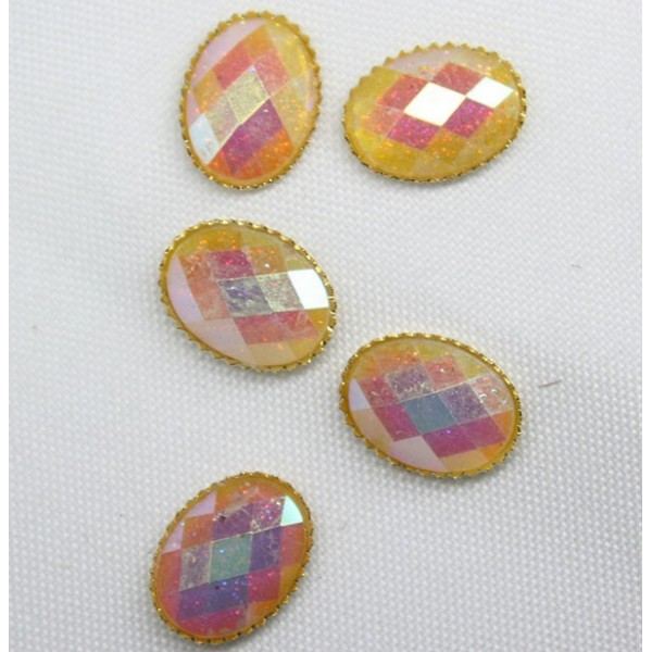 REDES Stone for nail art. 5 pcs