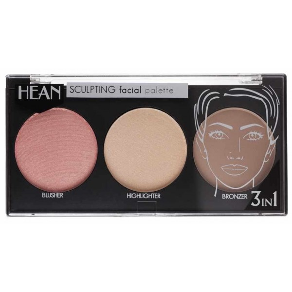 Sculpting facial palette 455