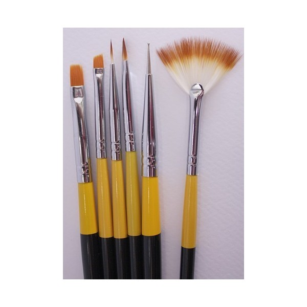Brush set 6 pcs