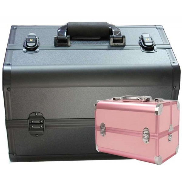 Beauty case PINK/SILVER