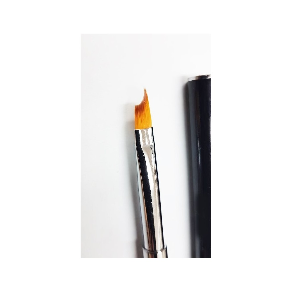 Nail brush for ombre