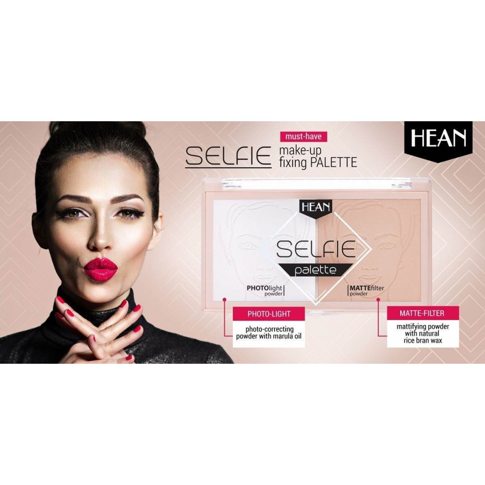 SELFIE make-up setting palette