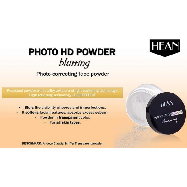 Photo HD Powder blurring