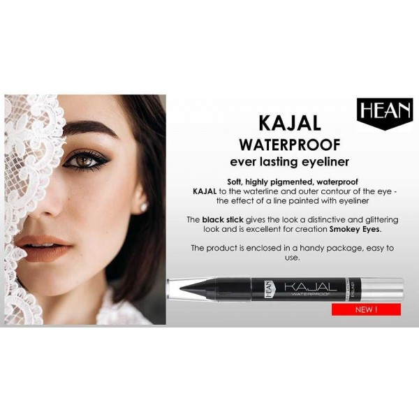 Kajal waterproof ever lasting eyeliner