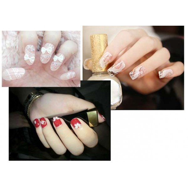 NAIL STICKER LACE-2