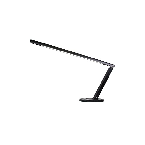 Nail Table Lamp Black 13W T5
