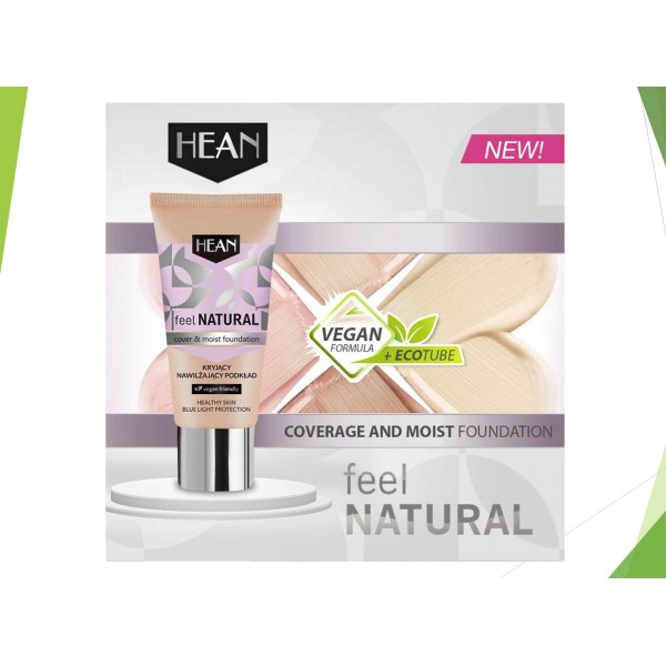 Cover and moist foundation Feel Natural